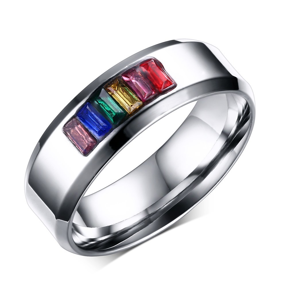 rings engagement color colorful guide style with