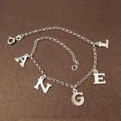 Personalized S925 Silver Name Bracelets
