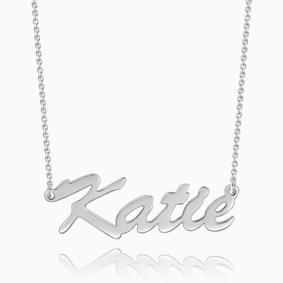 Classic S925 Silver Name Necklace
