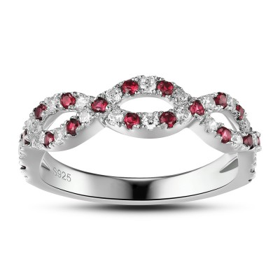 Beautiful Sterling Silver Women's Engagement Ring