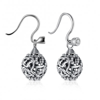Elegant Hearts S925 Silver Earrings