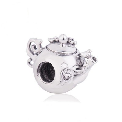 Lovely Teapot Charm Sterling Silver