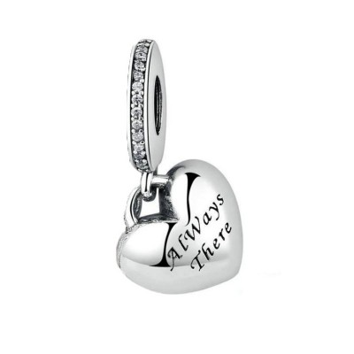 Best Friends Charm Sterling Silver