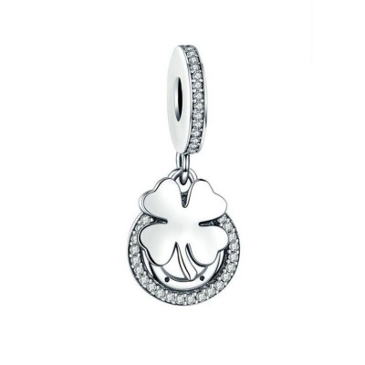 Clover Charm Sterling Silver