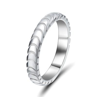 Elegant 925 Sterling Silver Women's Wedding Bands