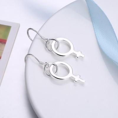Cute Design S925 Silver Earrings