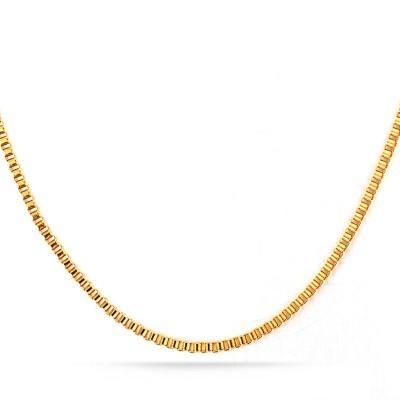Gold Titanium Steel 2mm Chains